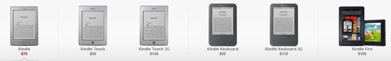 Yeni Nesil Kindle Cihazları Duyuruldu: Kindle Touch, Kindle Fire ve Yeni Kindle