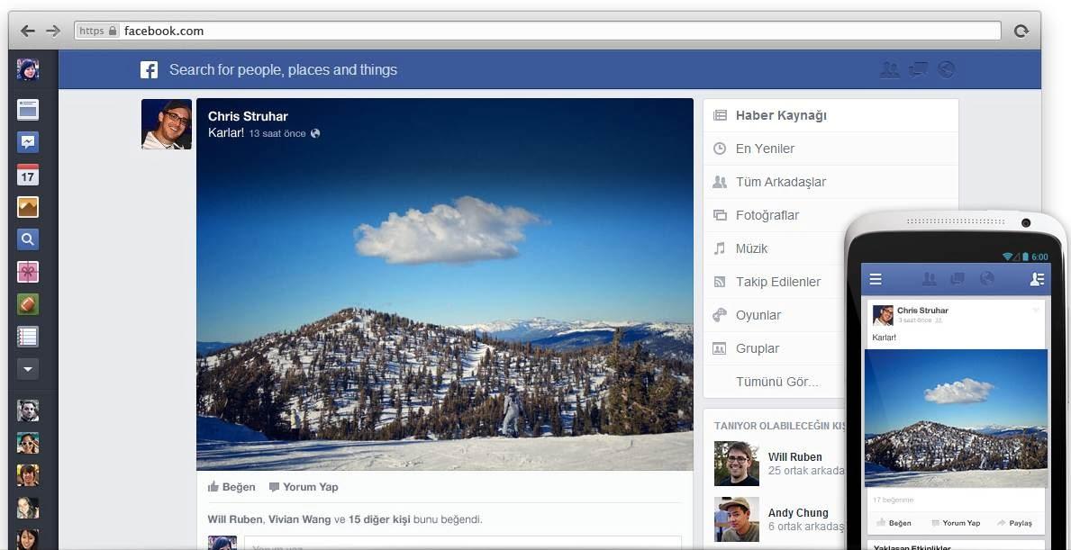 Facebook'un, Google+'ı andıran yeni haber kaynağı