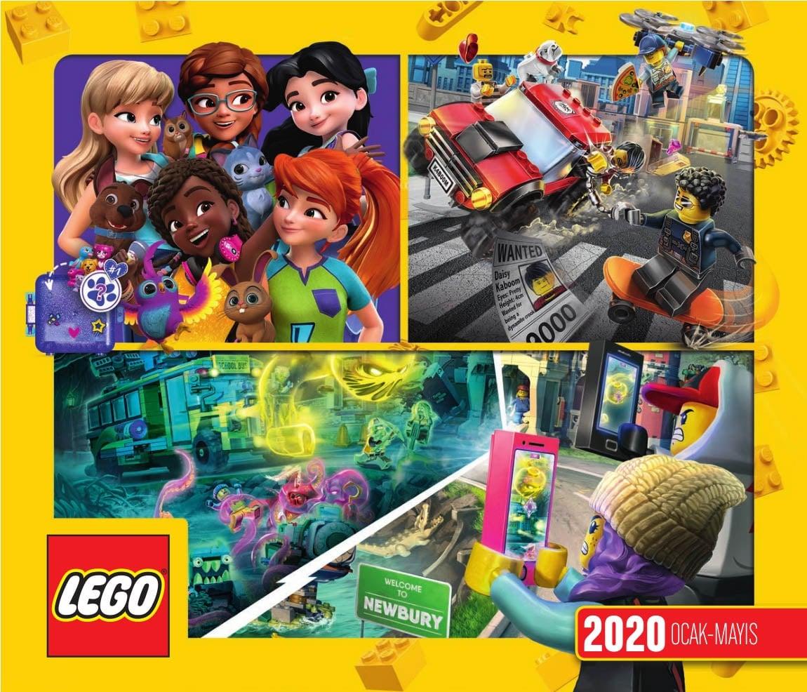 LEGO 2020 Ocak Mayis Katalog